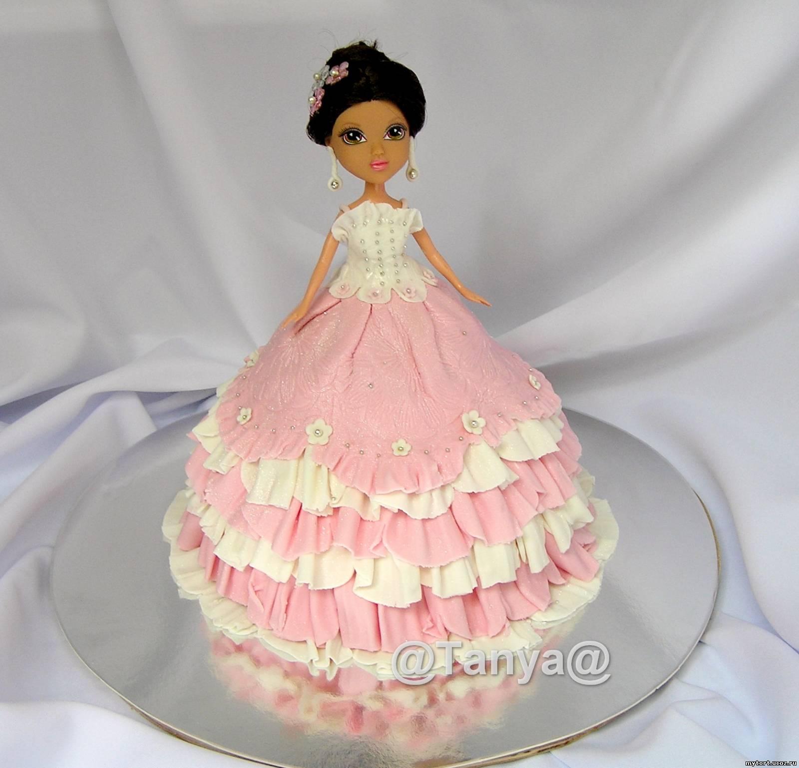 Торты для девочек.